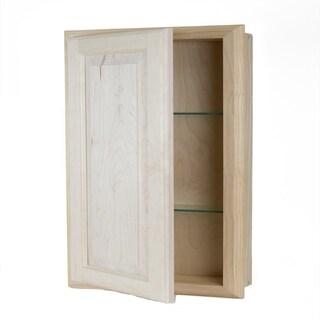 Recessed Wood Baldwin Medicine Storage Cabinet