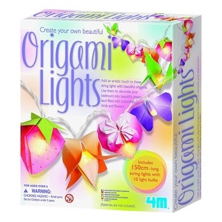 4M Create Your Own Beautiful Origami Room Lights