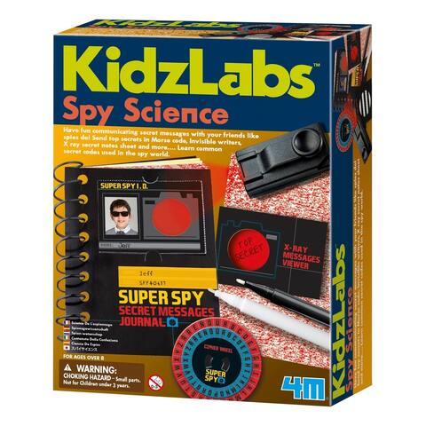 4M KidzLabs Spy Science Secret Messages Kit