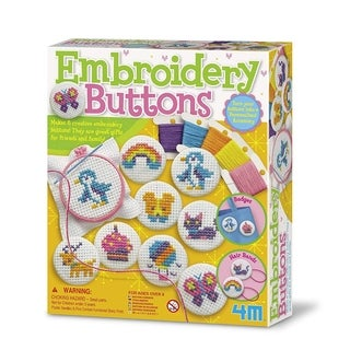4M Embroidery Buttons Kit