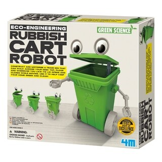 4M Green Science Eco-Engineering Rubbish Cart Robot Kit