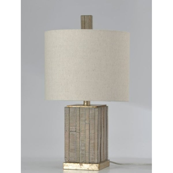 StyleCraft Square Table Lamp With Shade