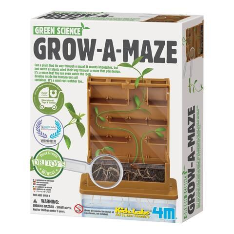 4M Green Science Grow-A- Maze Kit