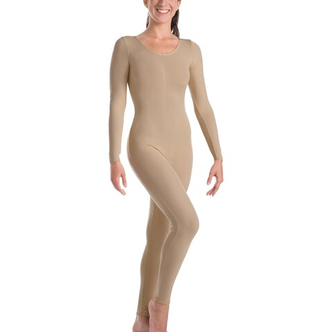 Body Wrappers Womens MicroTECH Long Sleeve Unitard (MT217XX)