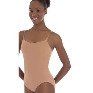 Body Wrappers Womens Padded Bust Versatile Halter/Tank Leotard (285)