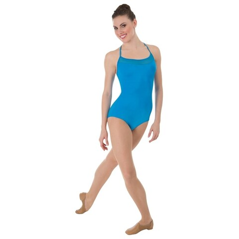 Body Wrappers womens HALTER LEOTARD (P1000)