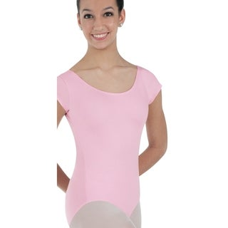 Body Wrappers Womens Prowear Cap Sleeve Ballet Cut Leotard (BWP220)