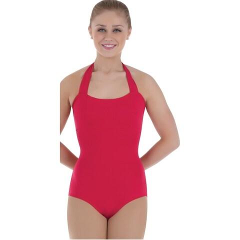 Body Wrappers Womens ProWear Halter Leotard (BWP203)