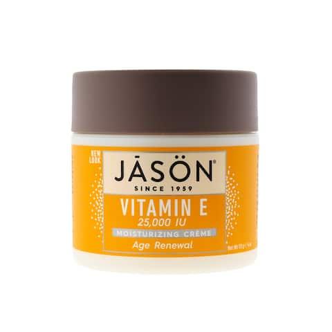 Jason Age Renewal Vitamin E 25,000 IU Moisturizing Crème 4 ounces