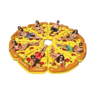 F.S.D Giant Pizza Slice Inflatable Mattress