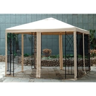 Sunjoy Replacement Canopy For L Gz105pst 10 10x10 Tivoli Gazebo As Is Item
