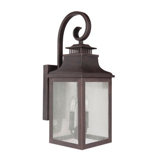 JAYSON 2 Light Exterior Lighting in Rustic Bronze