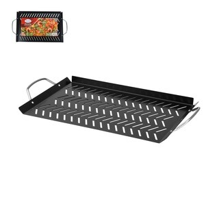 Alpine BBQ Grill Topper Pan Non-Stick Carbon Steel Outdoor Grill