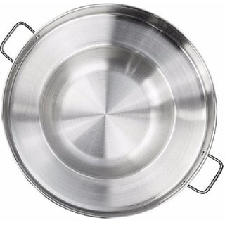 Link to Large 22 Inch Round Stainless Steel Comal Wok Griddle Multi Cooker Similar Items in Cookware