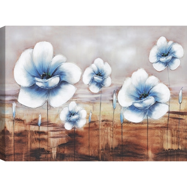 flower i farm art canvas print wall art décor 30x40 ready to hang