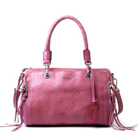 Old Trend Lily Genuine Leather Satchel