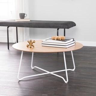 Holly & Martin Kacheri Round Scandinavian Style Coffee Table