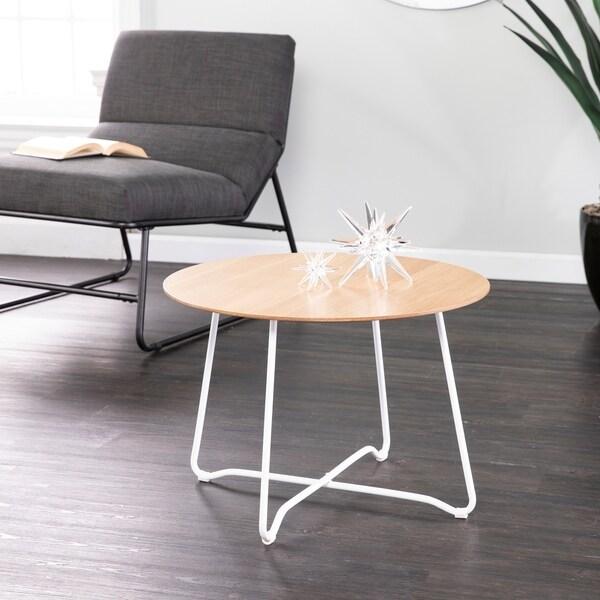Holly & Martin Kacheri Round Scandinavian Style End Table