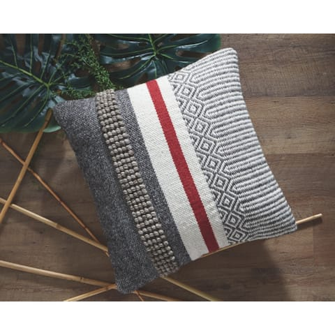 Jevin Multi-Color Throw Pillow