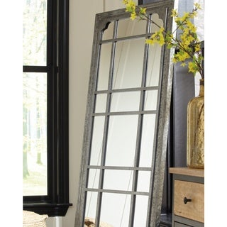 Remy Leaning Accent Mirror - Grey