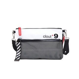 Like Dreams Clout-Mini Front Mesh Clutch