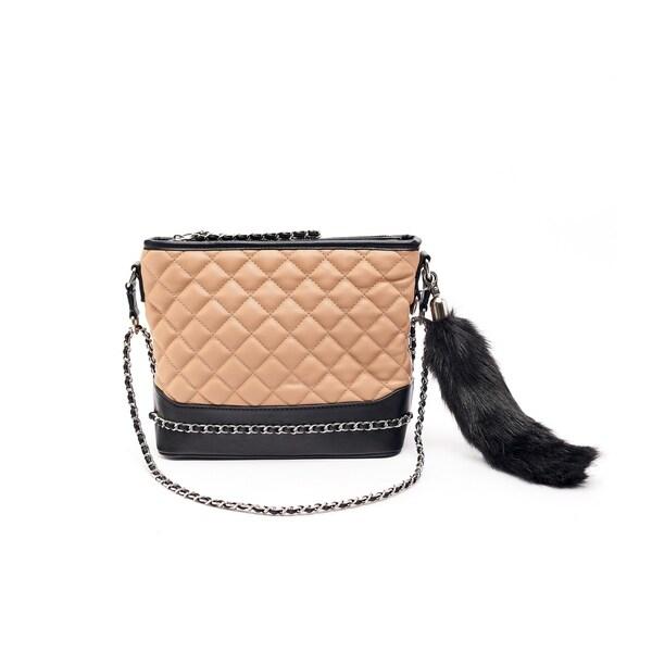 8b589cc71f Shop Like Dreams Lourdes Faux Fur Foxtail Crossbody - Free Shipping ...