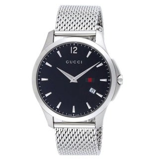 Gucci Men's G-Timeless Black Quartz Watch