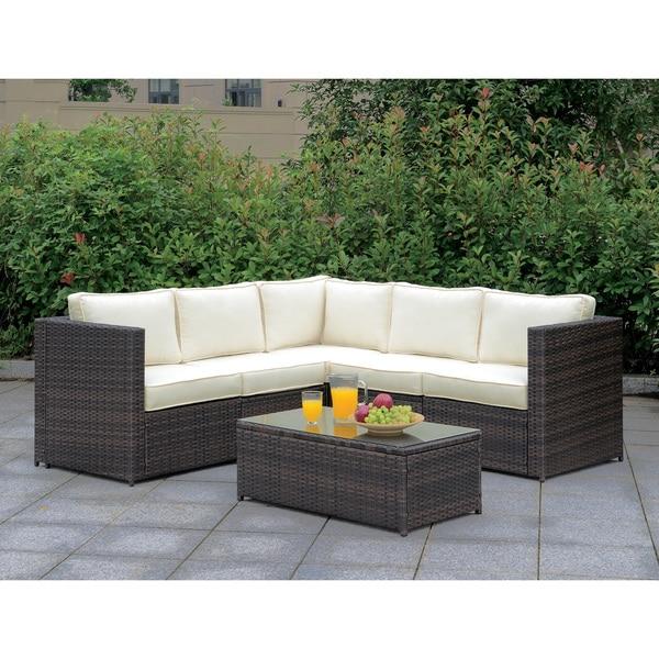 Shop Furniture Of America Villa IX Modular Outdoor Weather