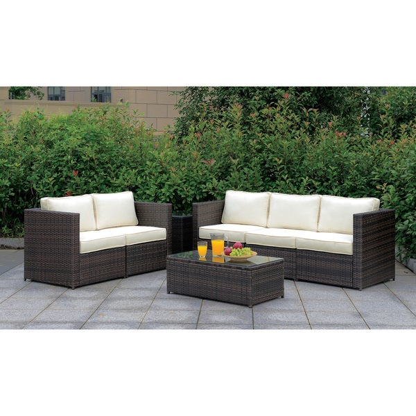 Furniture With Free Shipping: Shop Furniture Of America Villa X Modular 3-Piece Weather