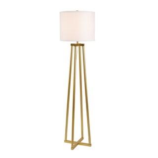 Carson Carrington Angelholm 60-inch Gold Floor Lamp