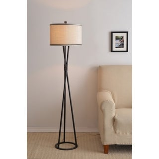 Carson Carrington Angelholm 60-inch Black Tripod Floor Lamp