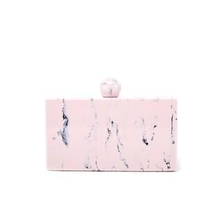 Like Dreams Valyn Marble Box Clutch