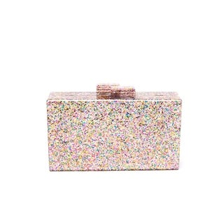 Like Dreams Blaer Glittered Clutch