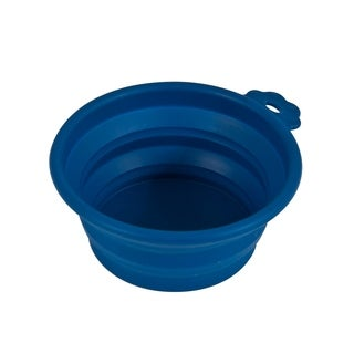 Petmate Silicone Round Travel Pet Bowl