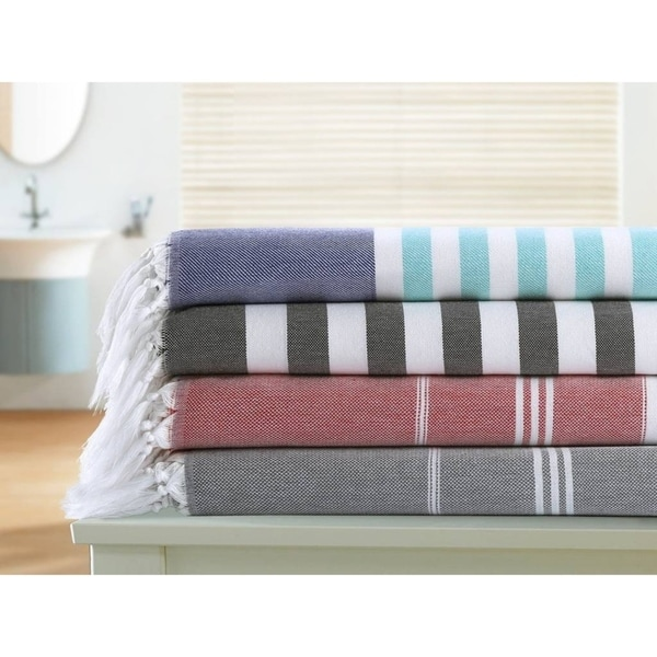 Shop Chama Egyptian Cotton Extra Soft Turkish Beach Towel Size 40 X