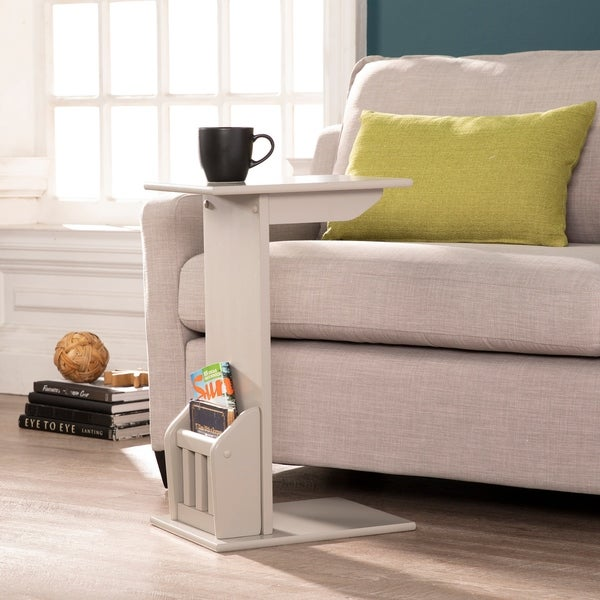 Magazine/Snack End Table