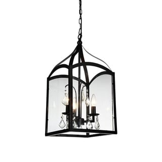 Link to The Gray Barn Brook Haven 3-light Mini Pendant with Black Finish Similar Items in Floor Lamps