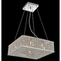 Chrome Stainless Steel 8-light Mini Pendant