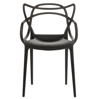 Modern Edge Indoor/Outdoor Stacking Dining Chair