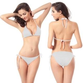 Sexy Womens Beach Swimwear Triangle Bra Underpant Bikini Set Bathing Swimsuit