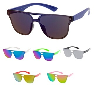 "MLC Minimal Urban Modern ""Flat-Lined"" Flat Lens Sunglasses"