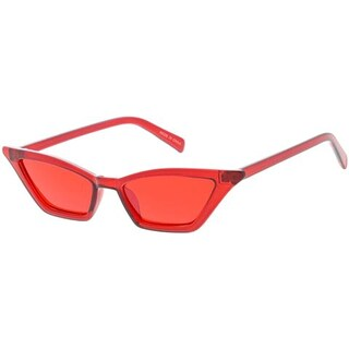 "MLC Urban ""Kick-Back 2.0"" 90s Narrow Flat Lens Cat Eye Sunglasses"
