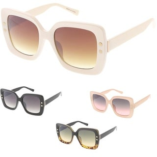 "MLC Urban Modern ""Chance"" Thick Frame Sunglasses"