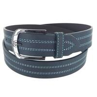 Men's Insomniac Collection Casual Business Single Prong Buckle Belt
