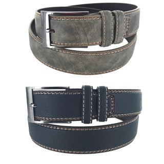 Men's Classic Heritage Series Business Single Prong Buckle Belt MS1