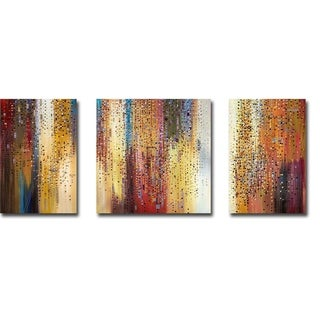 Link to Megapolis 1, 2, & 3 by Ermilkina 3-piece Gallery Wrapped Canvas Giclee Art Set Similar Items in Matching Sets