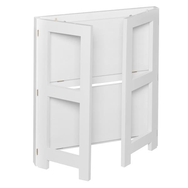 "Flip Flop 28"" High Folding Bookcase- White - Overstock - 22680563"