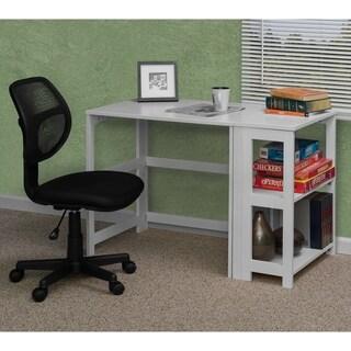 Regency Seating Flip Flop White Rubberwood/Veneer 31-inch Folding Desk