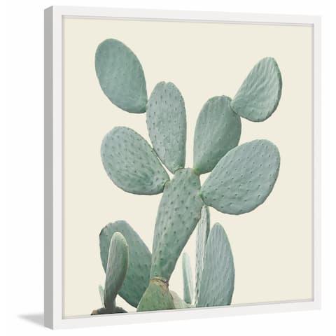 Marmont Hill - Handmade I Love Cacti Framed Print