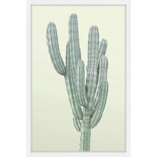 Marmont Hill - Handmade Lone Cactus Framed Print